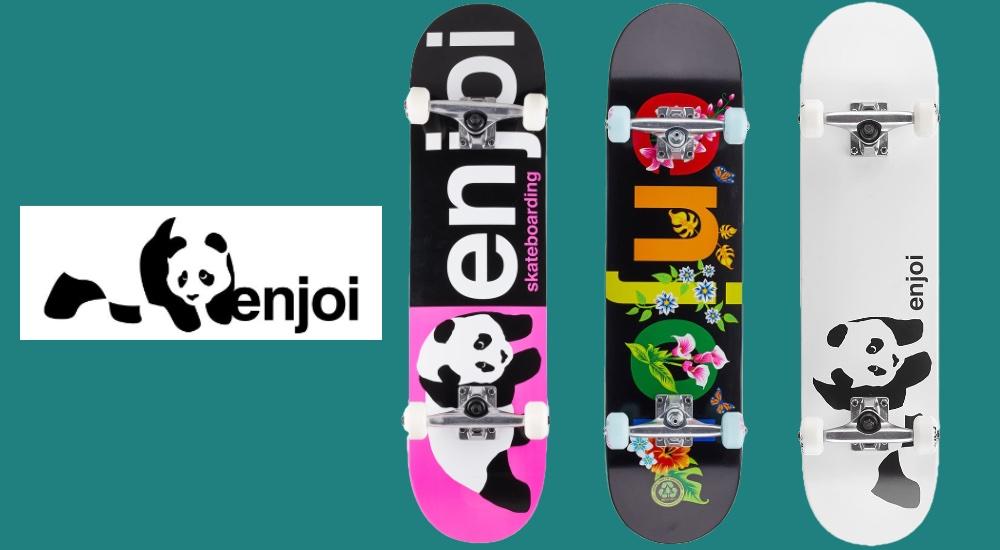 enjoi コンプリート例※現在販売されているモデルとは異なる場合があります。